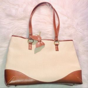 Coldwater Creek White Tote Bag